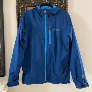 Columbia Titanium Evapouration jacket blue medium